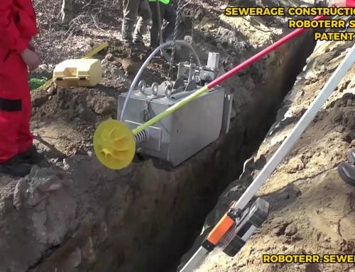 Noua tehnologie de executie a sistemelor de canalizari