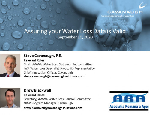 Assuring your Water Loss Data is Valid – video