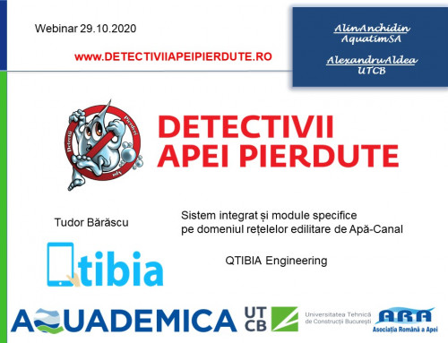 Sistem integrat si module specifice pe domeniul retelelor edilitare