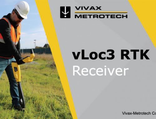 vLoc3 RTK-Pro primul locator cu precizie topografică GNSS